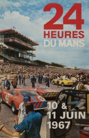 1967 Le Mans 24 hours poster