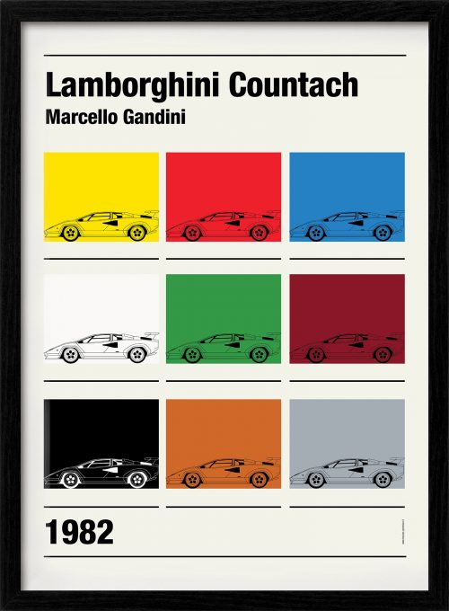 Lamborghini Countach \u2022 Petrolicious Shop
