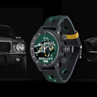 Support A Worthy Cause And You Could Win This One-Off BRM 'Bullitt' Chronograph Watch