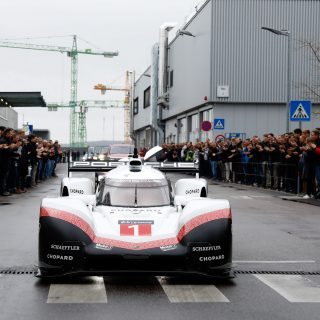 Here's What A Porsche Le Mans Champ Looks Like In Stuttgart Traffic