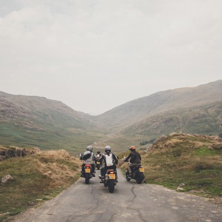 What It's Like To Ride A 1957 Triumph Thunderbird Across Scotland, Wales, And England
