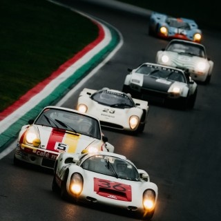 Hundreds Of Horsepower Racing Under Storm Clouds At Imola Is My Dream Come True