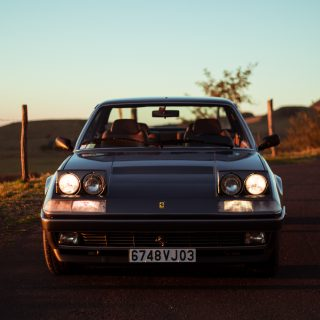 GALLERY: Go Behind The Scenes On Our 1988 Ferrari 412 Film Shoot