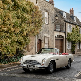 Aston Martin Pioneers The World's First Reversible EV Swap For Classic Cars