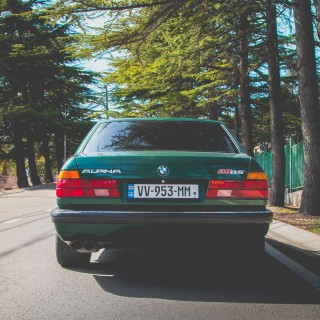 Let This Alpina B11 Make You Green With Envy