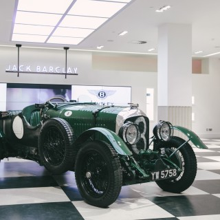 One Of The Greatest Ever Racing Bentleys Makes An Epic Homecoming