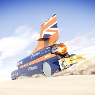 Bloodhound SSC HAS Been Saved By UK Turbocharger Entrepreneur