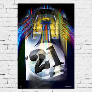 Relive Le Mans With A Psychedelic Twist In The Latest Artwork To Land In The Shop