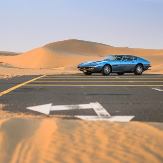 An Italian Dessert In The Desert: Chasing Dubai's Sunrise With A Maserati Ghibli SS