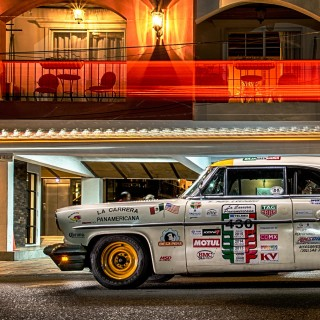 This 1954 Lincoln Cosmopolitan Is A Modified Carrera Panamericana Veteran