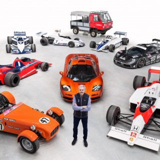 Gordon Murray Made A Commander Of The British Empire. But To Us He's A God
