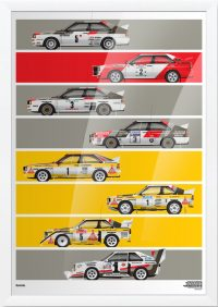 Short Graphic Story: Audi Quattro