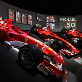This Is The Ferrari Museum's Stunning Tribute To Michael Schumacher At 50