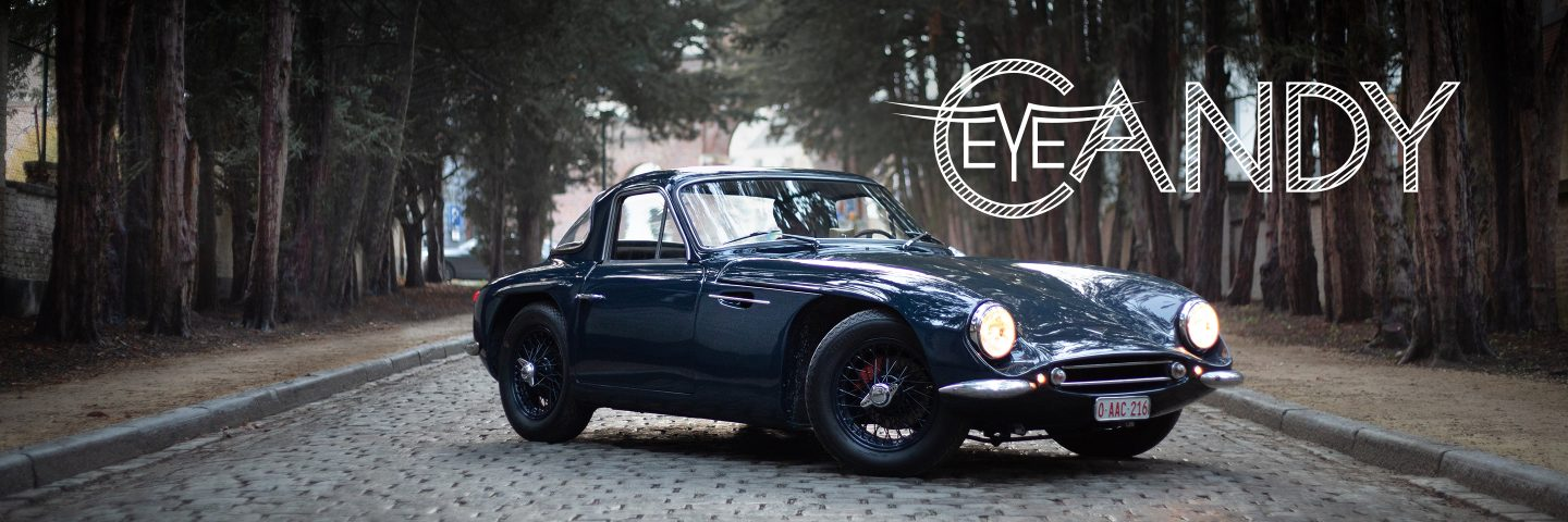 1963 TVR Grantura: Eye Candy