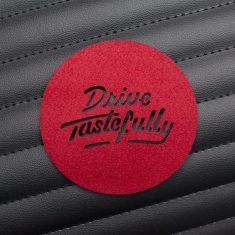 Drive Tastefully Coaster