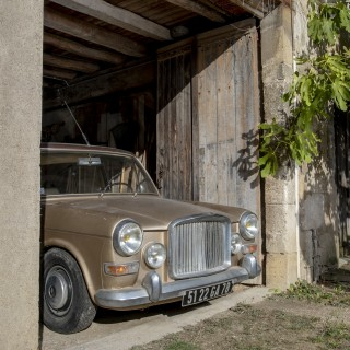 This Humble Vanden Plas Was Owned By French Superstar Charles Aznavour