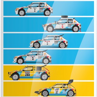New Motorsport Artwork From Ricardo Santos Has Arrived In The Shop