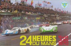 1970 Le Mans 24 Hours Poster