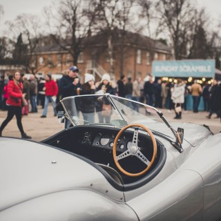 7000 Brave The Cold For Bicester Heritage's First Sunday Scramble of 2019