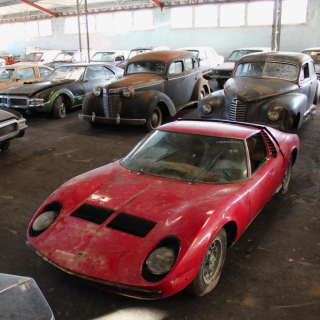 Remarkable Collection Of Barn-Find Classics Head To Auction In France