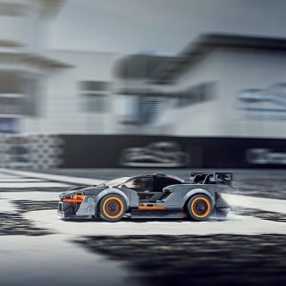 More LEGO! This Time It's A McLaren Senna To Push Around Your Desk