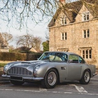 Hero Worship Well Warranted: My Test Drive In A Souped-Up Aston Martin DB5