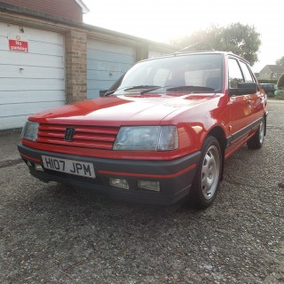 This 131 Mile Peugeot 309 GTI Has Spent Its Life In a Lock-Up Garage