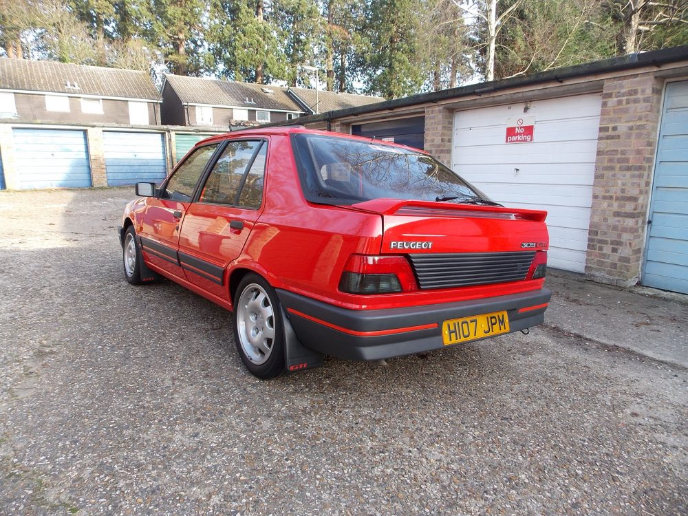 Vellidte This 131 Mile Peugeot 309 GTI Has Spent Its Life In a Lock-Up AF-41