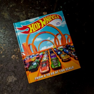 The Official Hot Wheels 50th Anniversary Book Comes With Its Own Carrying Case, Naturally