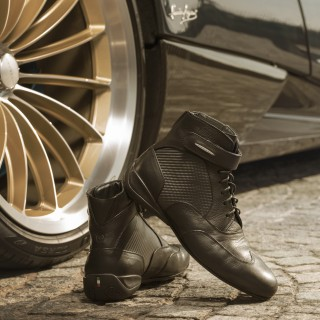 Piloti And Pagani Automobili Have Teamed Up On A New Set Of Huayra-Inspired Driving Boots