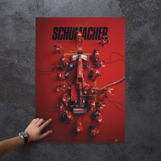 Relive Michael Schumacher's First Ferrari F1 Championship Title With New Automobilist Artwork