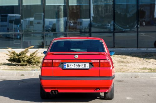 "This Alfa Romeo 155 With A ""Busso"" 3 0L V6 Engine Swap Is Inspired"