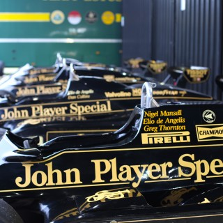 This Is The Biggest Ever Gathering of John Player Special Lotus Formula 1 Cars