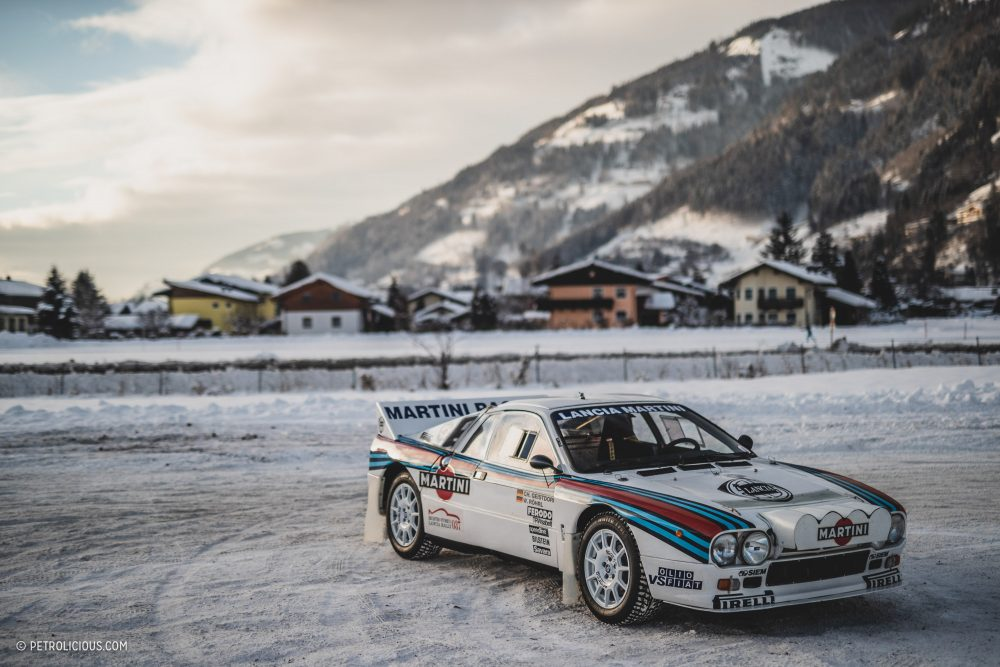 Martini On The Rocks: Coaxing A Historic Lancia 037 Rally