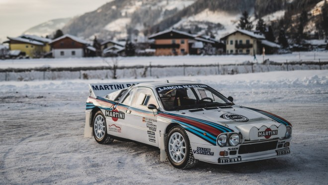 Martini On The Rocks: Coaxing A Historic Lancia 037 Rally Car Onto The Ice In Austria