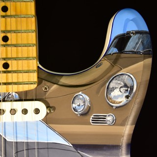 John Oates Car-Themed Guitar Will Be Sold For Charity At Amelia Island Concours