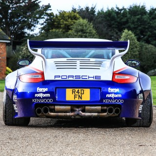 This Porsche 997 Is A Homage To The Rothmans 935 And 962 Le Mans Racers