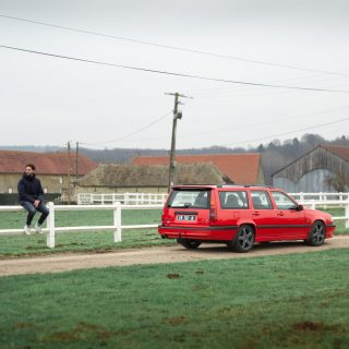 GALLERY: Go Behind The Scenes On Our 1996 Volvo 850 R Film Shoot