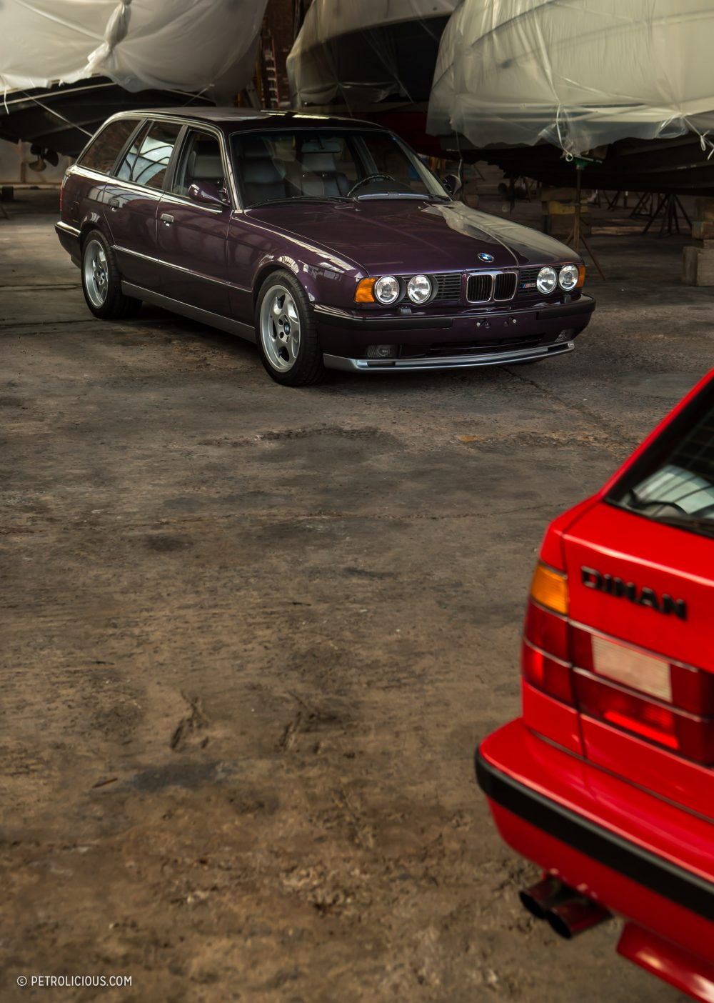 A Euro M5 Touring Meets Its Stateside Sibling A Swapped And Supercharged 525it Petrolicious