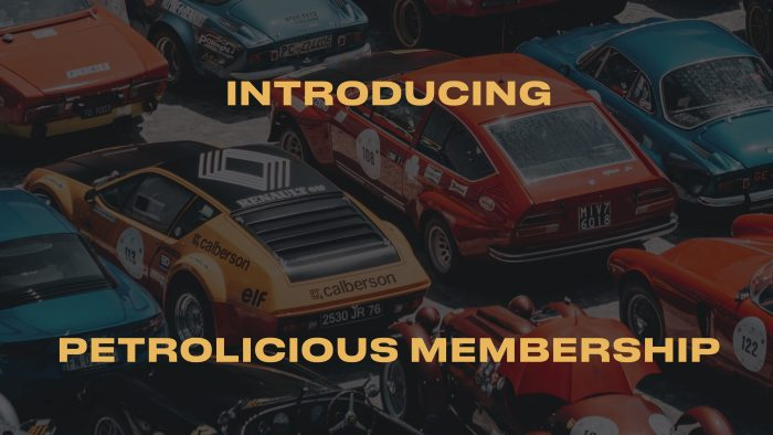 Introducing Petrolicious Membership