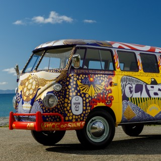 50 Years On, The Woodstock VW Bus Has Been Recreated By Its Original Artist
