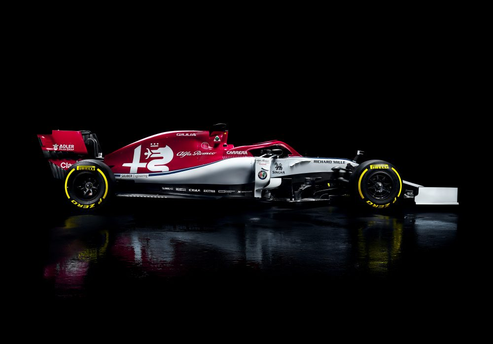 goodbye sauber hello alfa romeo as new formula 1 team livery is revealed 400 euro job 400. Black Bedroom Furniture Sets. Home Design Ideas