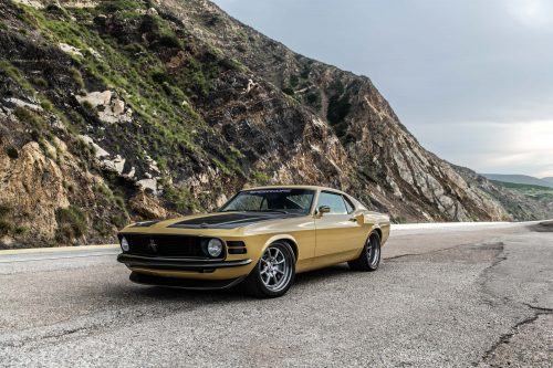 Rethinking The Restomod 1970 Ford Mustang Boss 302 Is Carbon Clad