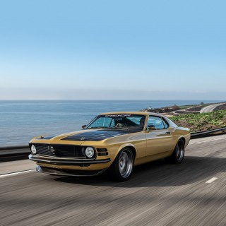 Rethinking The Restomod: 1970 Ford Mustang Boss 302 Is Carbon-Clad, Supercharged, But Somehow Subtle