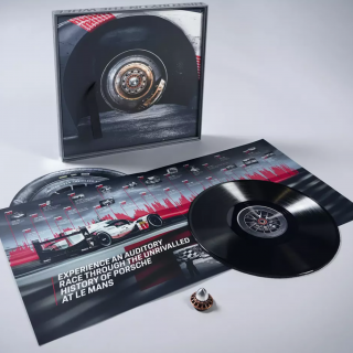 Porsche Is Selling Le Mans Soundtracks On Vinyl Records Made From The 919's Tires