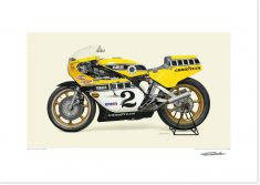 When Kenny Hit The Apex: Kenny Roberts' 1978 Yamaha YZR750