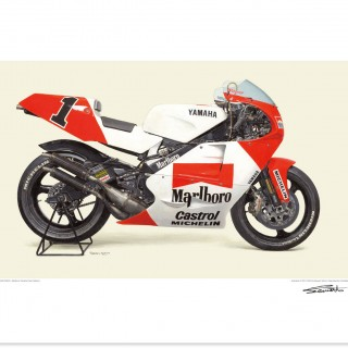 Highly-Detailed And Hand-Painted: Grand Prix-Winning Motorcycles Prints Have Been Added To The Shop