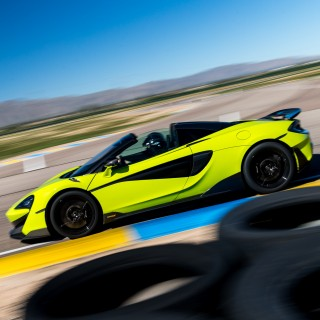 The New McLaren 600LT Spider Is A Lightweight Drop-Top Circuit-Slayer