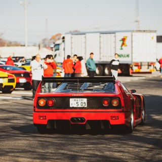 From Volvo 240s To Ferrari F50s, These Are The Cars That Showed Up To The Hanyu End Of Year Meet In Japan