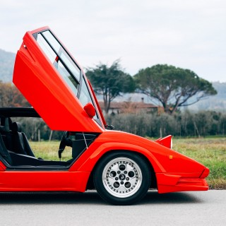 Gaudy Body Kit Or Ultimate Evolution? Either Way, The Countach 25th Anniversary Demands Your Attention
